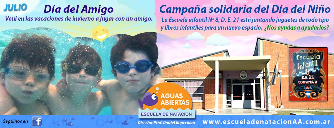 """Julio en """"Aguas Abiertas"""""""